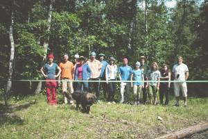 Zdjęcie grupowe w alternatywnych nakryciach głowy ;)